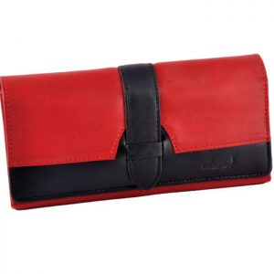 Stylish Ladies Purse Red & Black-VI06