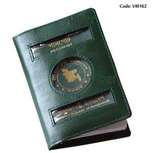 Passport Holder Cover Green-VI0162