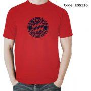 Bayern Munich Logo Men's Round Neck T-Shirt-ESS116