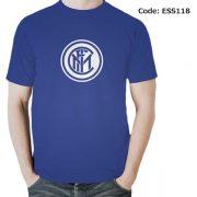 Inter Milan Logo Men's Round Neck T-Shirt-ESS118
