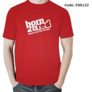 Manchester United Born Men's Round Neck T-Shirt-ESS122