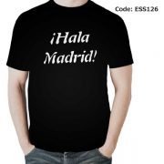 Real Madrid iHala Madrid! Men's Round Neck T-Shirt-ESS126