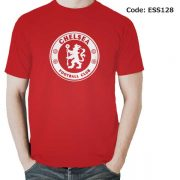 Chelsea Logo Men's Round Neck T-Shirt-ESS128