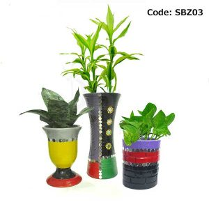 House Plant With Pot-SBZ03