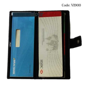 Check Book Cover Wallet- VI900