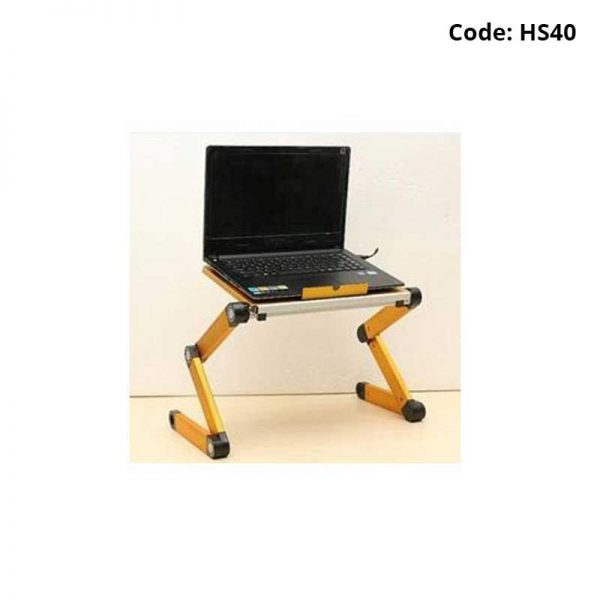 Portable Laptop Table With Cooling Fans-HS40