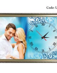 Decorative Blue Customized Clock-UC74