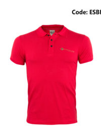 Police Red Men's Polo Shirt