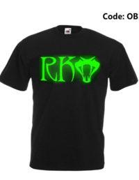 RKO Glow At Night Men's Round Neck T-Shirt