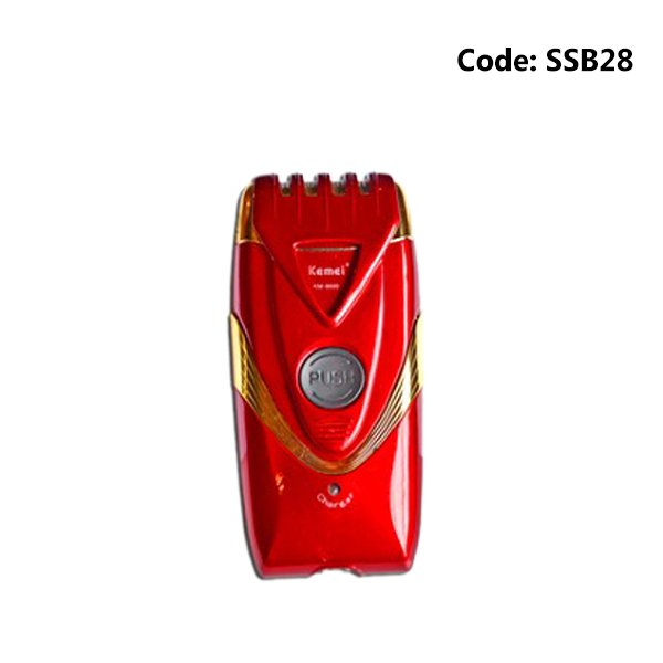 Kemei KM-8600 Rechargeable Classic Edition Beard Trimmer For Men