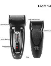 Kemei KM-8013 Rechargeable Shaver For Man