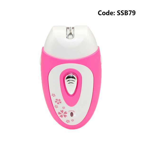 Kemei KM-207 Epilator Electric Shaver Female With Shaving Knife