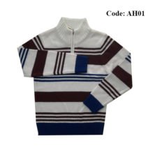 4 to 10 Years Boys Sweater Half Zipper by Ahnaf BD - AH01