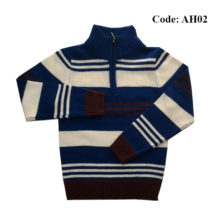 4 to 10 Years Boys Sweater Half Zipper by Ahnaf BD - AH02