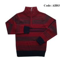4 to 10 Years Boys Sweater Half Zipper by Ahnaf BD - AH03