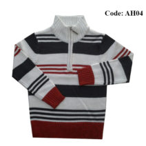 4 to 10 Years Boys Sweater Half Zipper by Ahnaf BD - AH04