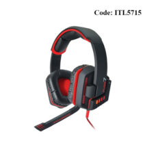 Armaggeddon AMG FUZE 7 7.1 Gaming Headset with Round Cups and Lighted Logo - ITL5715