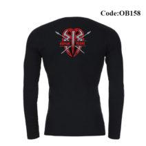 Ok Bazar Roman Rings Men's Full Sleeve T-shirt - OB158