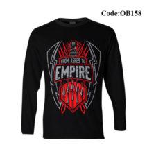 Ok Bazaar Roman Rings Men's Full Sleeve T-shirt - OB158