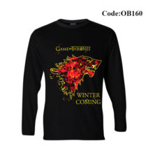 Ok Bazaar Winter Is Coming Men's Full Sleeve T-shirt - OB160