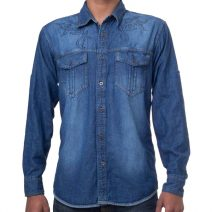 Men's Full Sleeve Denim Shirt by eShoppingBD