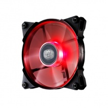 Cooler Master JETFLO 120 Red LED Casing Cooling Fan