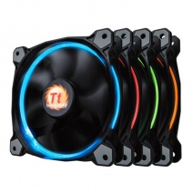 Thermaltake CL-F043-PL14SW-A Ring 14 LED Radiator Casing Fan