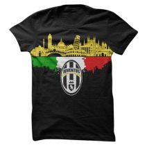 The Apparel Juventus Turn 1061 Men's Round Neck T-Shirt