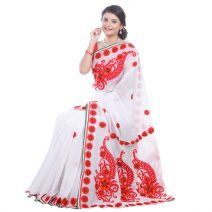 Classic Boutique Pure Muslin Silk Saree 972