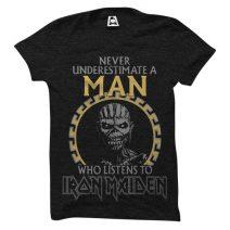 Crazy Mart Iron Maiden Men's Round Neck T-Shirt CMT109