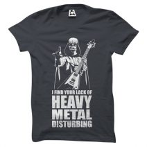 Crazy Mart Heavy Metal Men's Round Neck T-Shirt CMT113