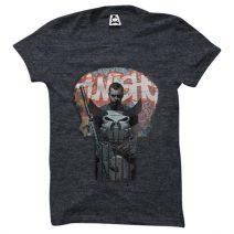 Crazy Mart The Punisher Men's Round Neck T-Shirt CMT115