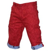 Lakbuas Red Three Quarter Pant For Men GPH198