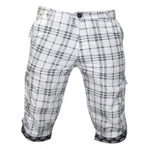 Lakbuas White Three Quarter Pant For Men GPH25