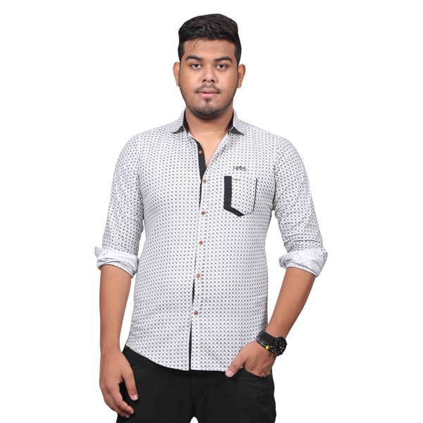 Lavelux Soft Cotton Casual Long Sleeve Shirt LMCSO65