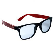 Armani Red-Black Glass Frame
