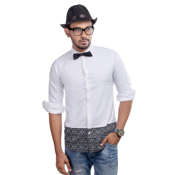 Lavelux Soft Cotton Casual Long Sleeve Shirt LMCS046