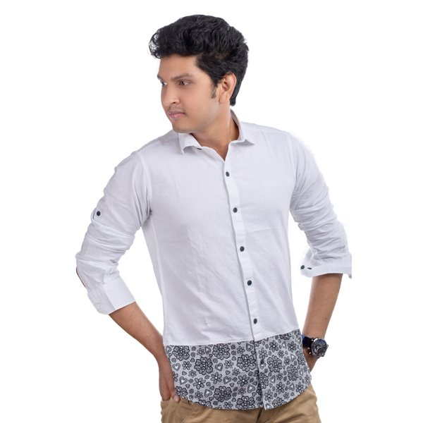 Lavelux Soft Cotton Casual Long Sleeve Shirt LMCS047