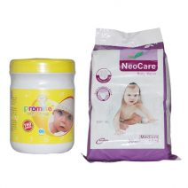 Neo Care Cushy Baby Dry Diaper And Promise Baby Children Comfortable Wet Wipes By Laksba