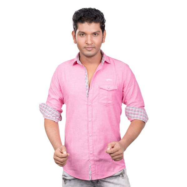 Lavelux Soft Cotton Casual Long Sleeve Shirt LMCS086