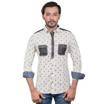 Lavelux Soft Cotton Casual Long Sleeve Shirt LMCS089