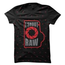 The Apparel I SHOOT RAW 1080 Men's Round Neck T-Shirt