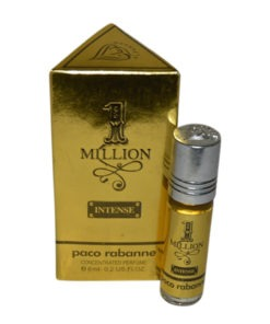 Million Fragrances Concentrated Gold Edition Pocket Perfume – 6 ml By Castle T