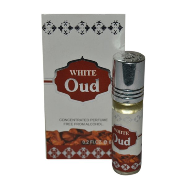 Oud Fragrances Concentrated White Edition Pocket Perfume – 6 ml By Castle T