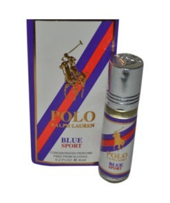 Polo Ralph Lauren Fragrances Concentrated Blue Sport Edition Pocket Perfume – 6 ml By Castle T