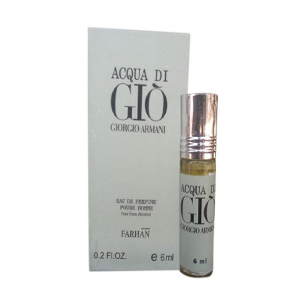 Armani Fragrances Acqua Di Gio Edition Pocket Perfume – 6 ml By Castle T
