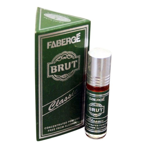 Brut Fragrances Concentrated Classic Edition Pocket Perfume – 6 ml By Castle T