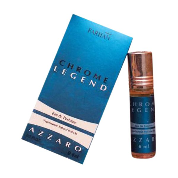 Azzaro Fragrances Chrome Legend Edition Pocket Perfume – 6 ml By Castle T