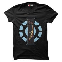 The Apparel Iron Man Arc 1100 Men's Round Neck T-Shirt