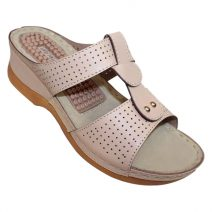 Louis Dollars Creme Medical Soft Sandal By Armansbazar